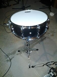 Brand New SP Snare w/ Stand