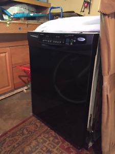 Whirlpool Dishwasher - black
