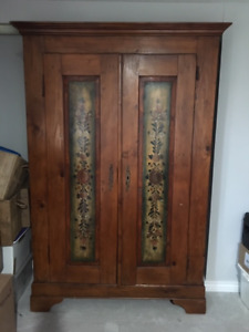 ANTIQUE SLOVENIAN Cabinet/Wardrobe