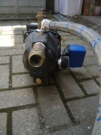 Pentair 800M pump and pressure vessel