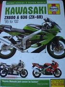KAWASAKI ZX600 & 636 ZX-6R MOTORCYCLE WORKSHOP MANUAL c2002 Perth Perth City Area Preview