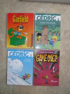 Lot 12 Bandes dessinées (BD) - Cedric, Game Over, Agent 212, etc
