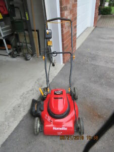 Electric Lawn Mower & Trimmer