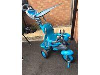 Kids adjustable trike