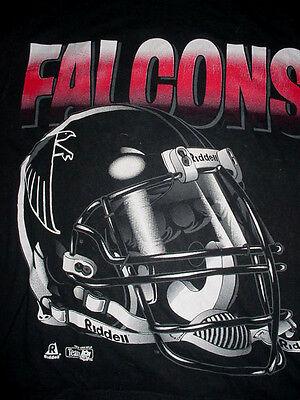 2000 Mens-RIDDELL ATLANTA FALCONS Football-Black Shirt-M image