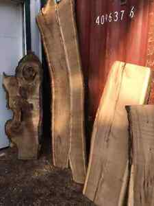 BEAUTIFUL LIVE EDGE!! VARIETY OF SPECIES!! London Ontario image 1
