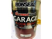 Ronseal Diamond Hard Garage floor Paint 5 litres - slate