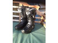Children's Motocross boots size euro 34 uk 2