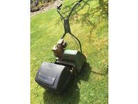 Webb petrol lawnmower, model AB1476
