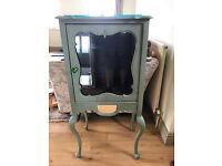 Edwardian Display Cabinet- vintage/shabby chic
