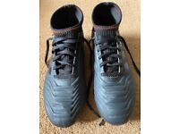 Black Predator Football Boots Size 4 1/2