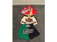 5 x boxing shorts