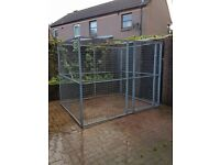 GALVANISED DOG PEN CAN DELIVER RUN KENNEL CAGE