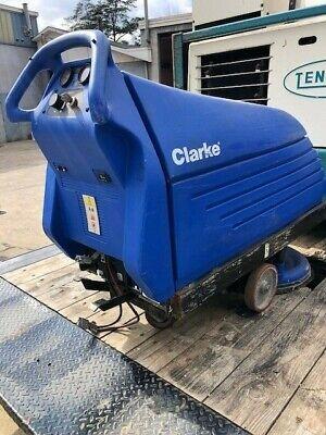 Clarke Fusion 20t Floor Burnisher Cleaner Scrubber Polisher 36v X 2