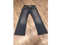 Levi 527 jeans