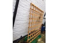 Trellis/fence panel - brand new. excellent condition