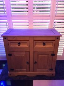 Corona Mexican Antique Pine Sideboard Bargain £65 Excellent condition!
