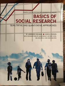 Basics of social research buy or sell books in ontario kijiji basics of social research qualitative and quantitative fandeluxe Gallery