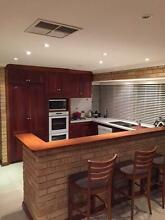 Renovated solid jarrah french polished kitchen Kingsley Joondalup Area Preview