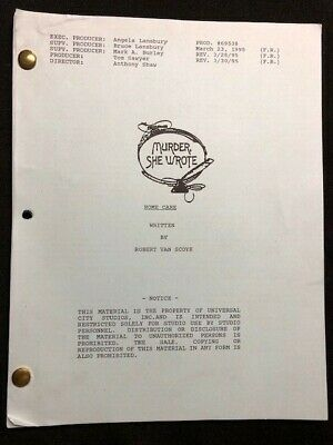 MURDER SHE WROTE TV SCRIPT - 1995 - Angela Lansbury - Home Care