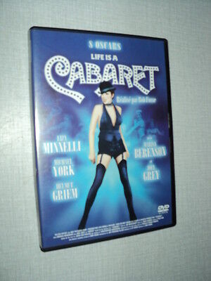 FILM CABARET DVD LIZA MINNELLI MICHAEL YORK HELMUT GRIEM MARISA BERENSON