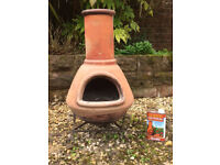 Terracotta Chiminea with tin of chimseal