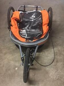 Via Velo Montalban 4 in 1 Stroller, Bike Trailer, Jogger, Cargo