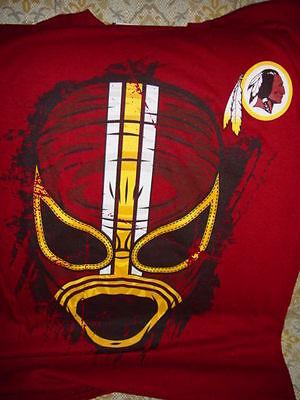 NFL Team Apparel Washington Redskin Football T-Shirt Size Small