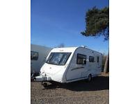 Caravan 2010 Elddis Avante 464 4-berth with fixed rear bunks