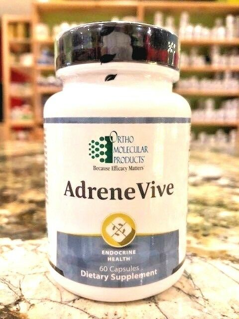 Ortho Molecular Products - Adrene Vive - Capsules 60 Count