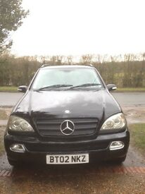 Mercedes-Benz 4 wheel drive Diesel ML-270 CDi Automatic