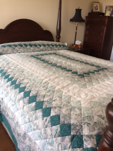 Hand Crafted Quilt by Wanda of Great Village