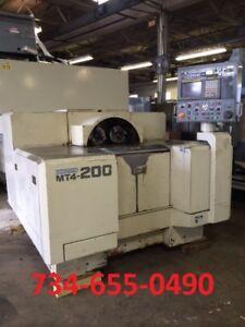 Kitako MT4-200 Four spindle CNC Lathe with Fanuc 16TT
