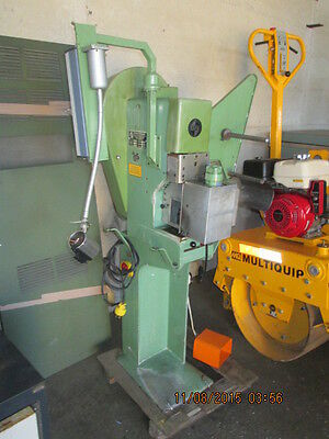 Espa Grote And Hartman Schleuniger Crimp Press Model Am 21 Terminal Machine