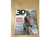 3D World Game skills /Model Agents Dec 2007 + Free CD