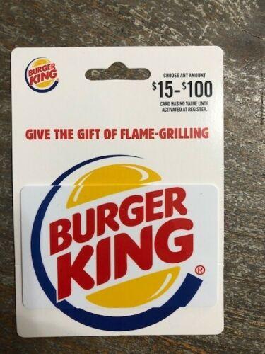 **Great Buy** Free Shipping Burger King 30