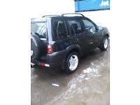Automatic td4 freelander px welcome