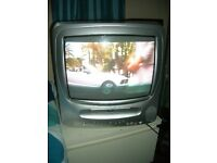 TV DVD Combo Not Flat Screen With Original Remote & Instruction Booklet
