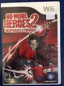 Wii No More Heroes 2 Desperate Struggle