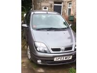 Renault Scenic 2003 1.6 16v spares or repairs