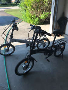 Two Electric Bikes for sales