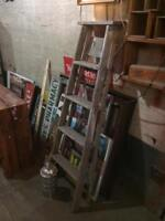 Old Rustic Ladders $40 and up