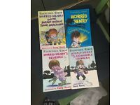 4 Horrid Henry Books