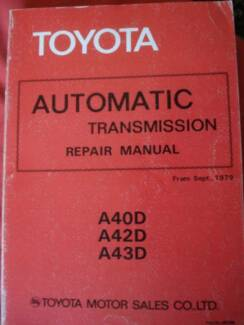 SELECTION OF VINTAGE TOYOTA AUTO TRANSMISSIONS c1968-76 Dianella Stirling Area Preview