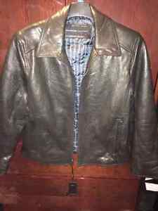 Brand New Andrew Marc Mens Leather Jacket XL