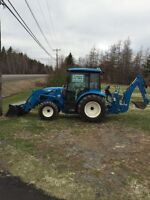 Tractor and Dump Trailer for Hire