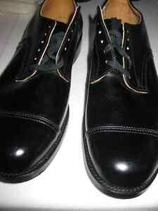 Brand New Men's Black Leather Shoes