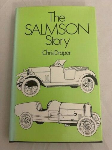 The Salmson Story By Chris Draper Published 1974 HC/DJ OOP