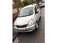 TOYOTA YARIS VERSO, GOOD CLEAN CONDITION, MANUAL,ELECTRIC SIDE MIRRORS,MOT UNTIL JUNE 2017, GOOD CAR
