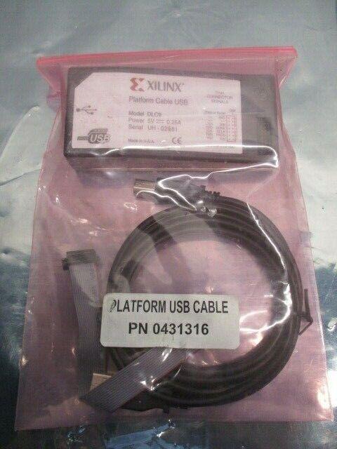Xilinx DLC9 Platform Cable USB, 0431316, 2 mm Connector Signals, 101381